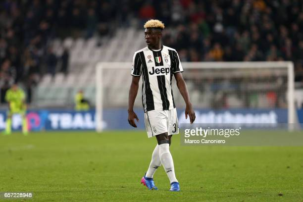 Moise Kean of Juventus FC during the Serie A football match between Juventus FC and Ac Milan at Juventus Stadium Juventus FC wins 21 over AC Milan