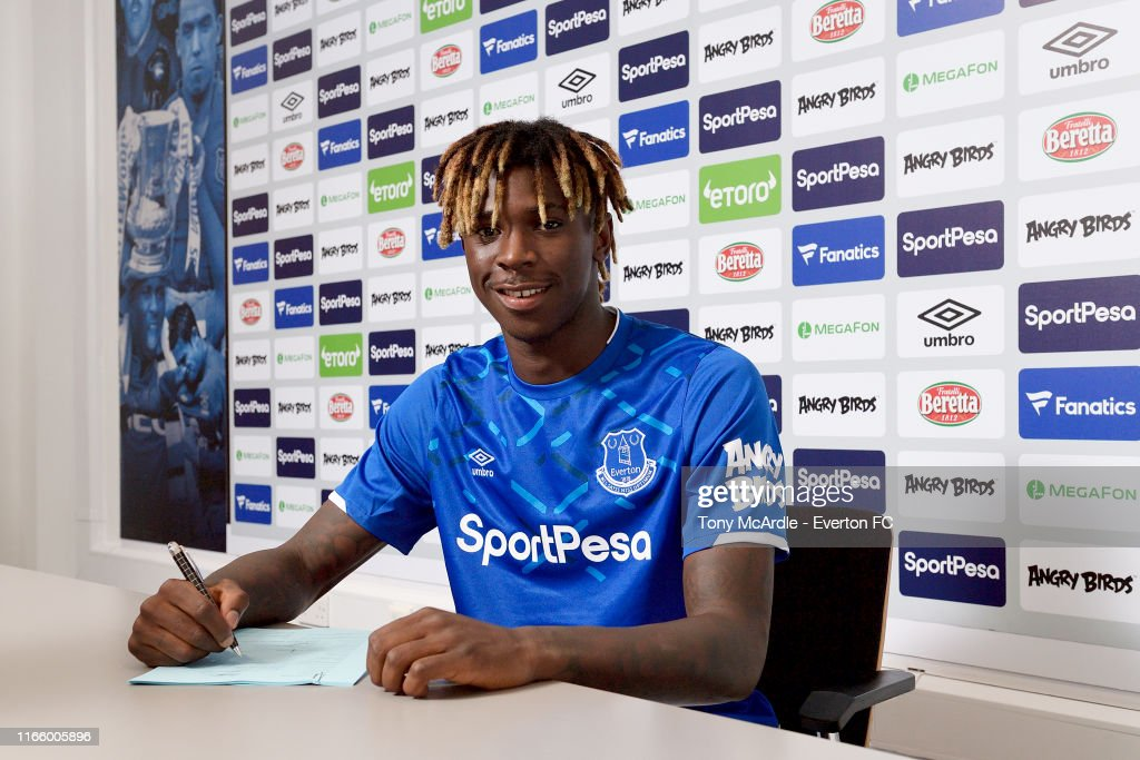 Everton Unveil New Signing Moise Kean : News Photo
