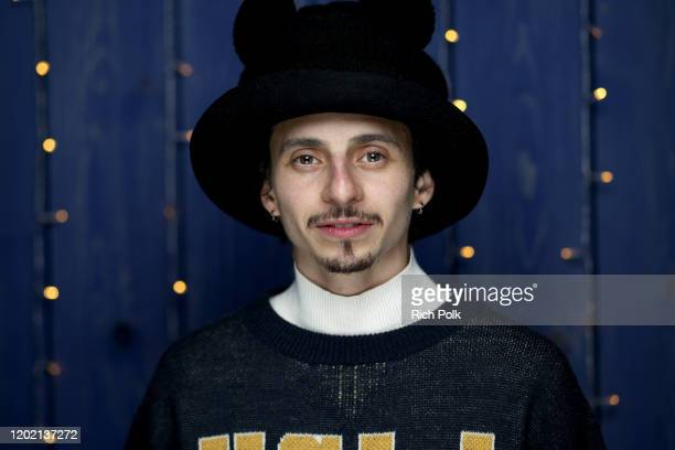 Moises Arias of 'Blast Beat' attends the IMDb Studio at Acura Festival Village on location at the 2020 Sundance Film Festival – Day 3 on January 26...