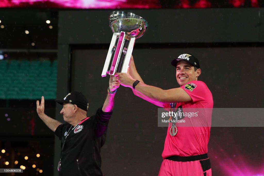 BBL Final - Sydney Sixers v Melbourne Stars : News Photo