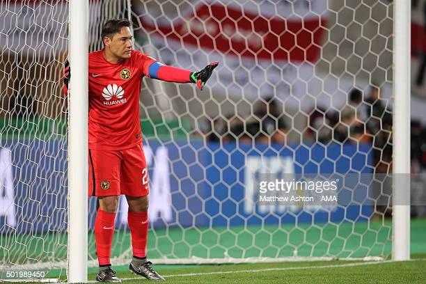 Moises Munoz of Club America during the FIFA Club World Cup Fifth Place Playoff between the Club America and TP Mazembe at Osaka Nagai Stadium on...