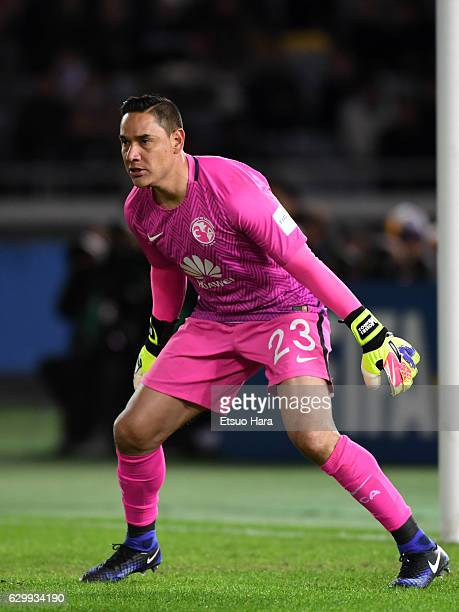 Moises Munoz of Club America in action during the FIFA Club World Cup Semi Final match between Club America and Real Madrid at International Stadium...
