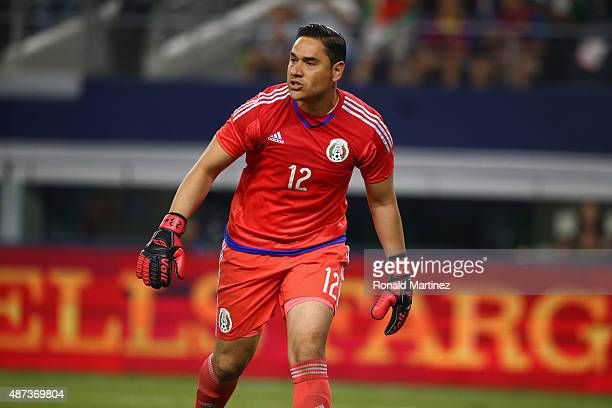 Moises Munoz of Mexico during a international friendly against Argentina at ATT Stadium on September 8 2015 in Arlington Texas