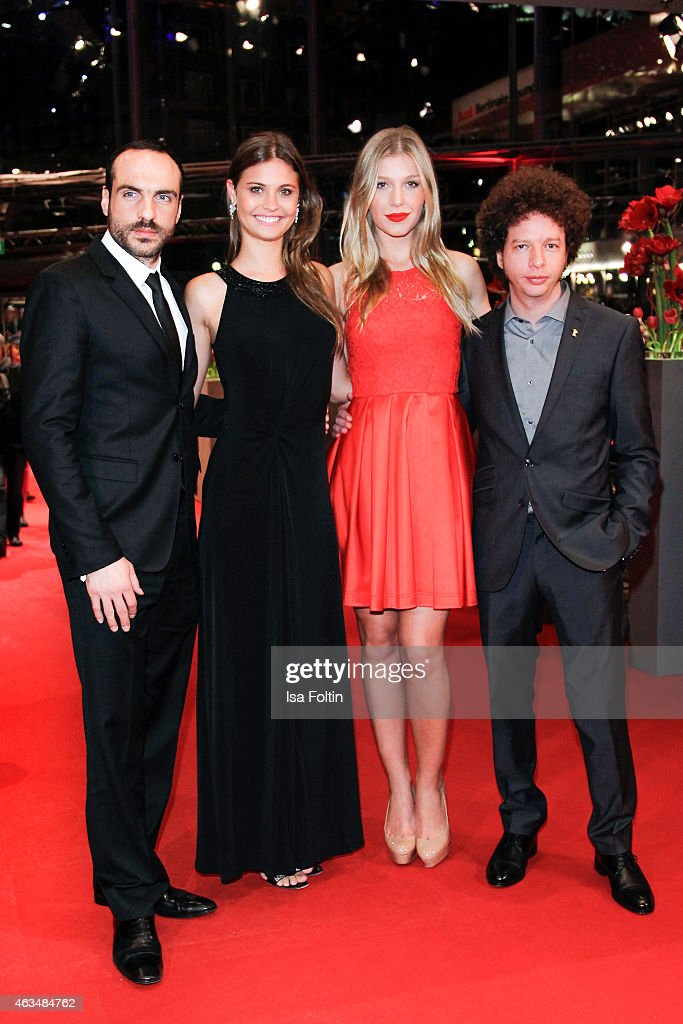 Moises Zonana (L), Michel Franco (R) and guests attend the Closing Ceremony of the 65th Berlinale International Film Festival on February 14, 2015 in Berlin, Germany.