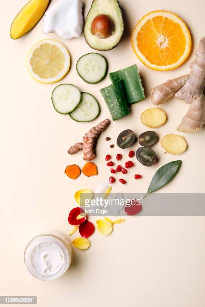 moisturizing cream with natural ingredients - natural condition stock pictures, royalty-free photos & images
