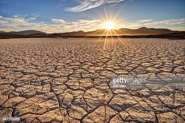 mojave desert sunrise - drought stock pictures, royalty-free photos & images