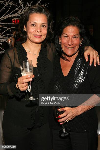 Mojdeh Rubin and Linda Stein attend Prudential Douglas Ellimanís Winter Wonderland Holiday Party at Cipriani 42nd Street on December 13 2006 in New...