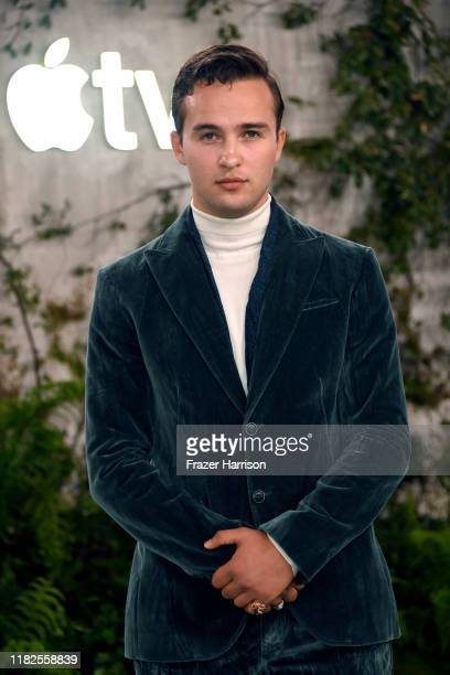 """Mojean Aria attends the world premiere of Apple TV+'s """"See"""" at Fox Village Theater on October 21, 2019 in Los Angeles, California."""