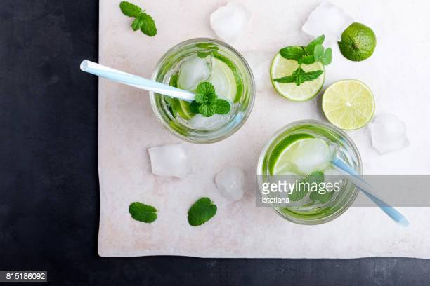 mojito cocktail - mojito stock photos and pictures