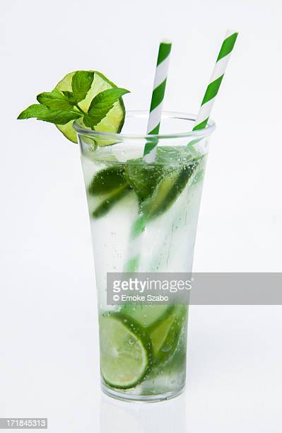 mojito coctail - mojito stock photos and pictures