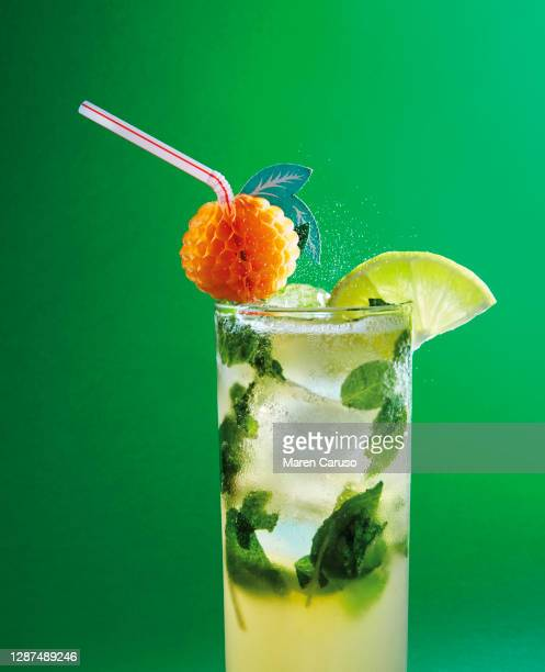 mojito - mint julep stock pictures, royalty-free photos & images