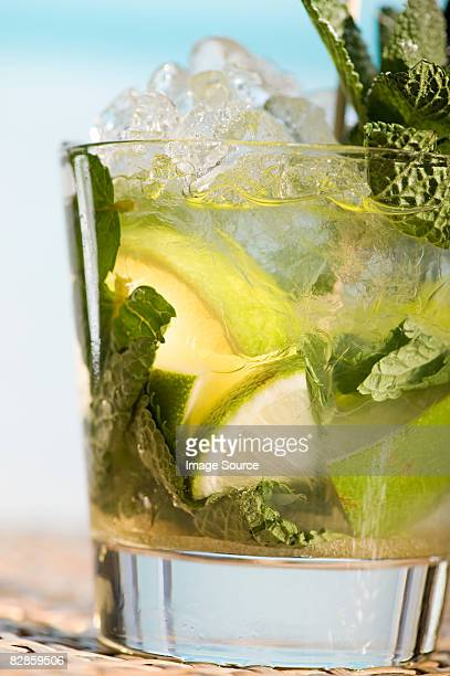 mojito - crushed leaves stock pictures, royalty-free photos & images