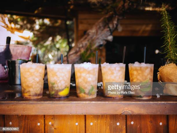 mojitos - rum stock pictures, royalty-free photos & images