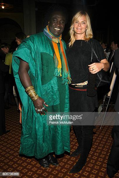 Moko and Cecilia Rodhe attend AFRICAN RAINFOREST CONSERVANCY Honors Lewis Lapham at the 15th Annual Gala at Gotham Hall on April 17 2006 in New York...