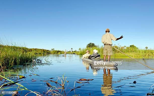 Mokoro trip in the Okavanga Delta in Botswana