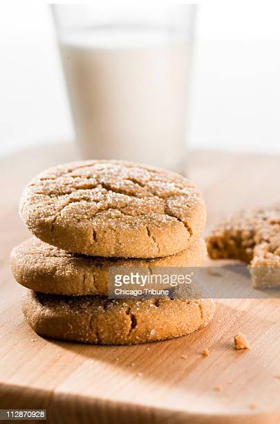 Molasses makes these ginger snap cookies moist and fabulous