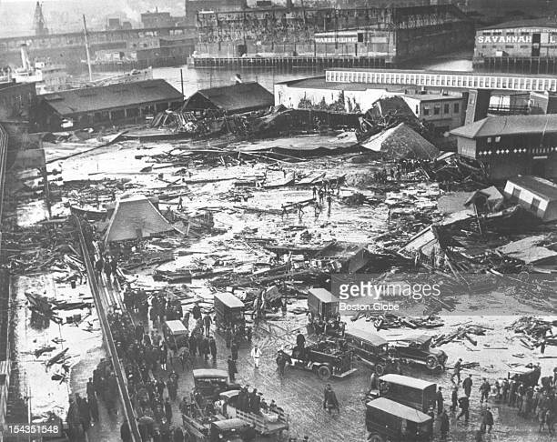 A molasses tank collapsed and caused widespread damage in Boston's North End in January 1919 The incident is commonly referred to as the Great...