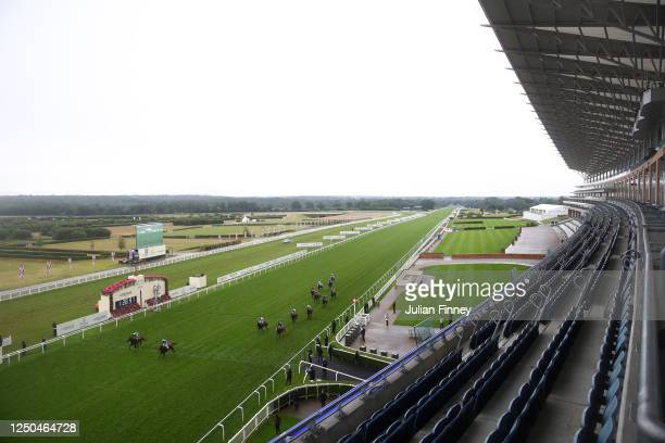 Molatham ridden by Jim Crowley wins the Jersey Stakes on Day Three of Royal Ascot 2020 at Ascot Racecourse on June 18, 2020 in Ascot, England.
