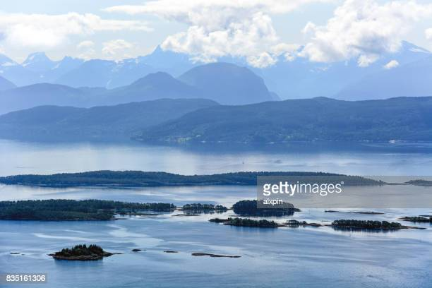 moldefjord, norway - molde stock photos and pictures