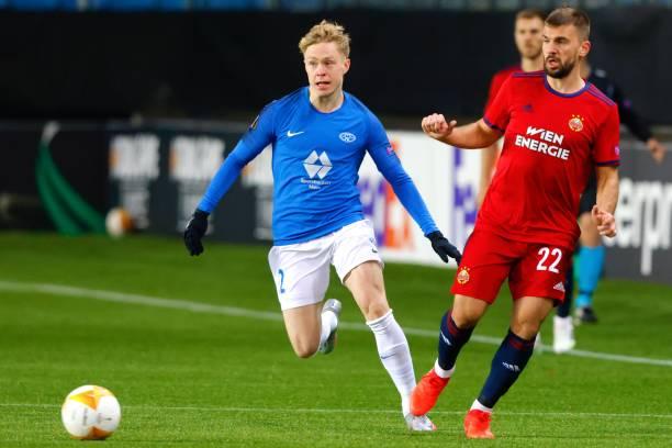 NOR: Molde FK v Rapid Wien: Group B - UEFA Europa League