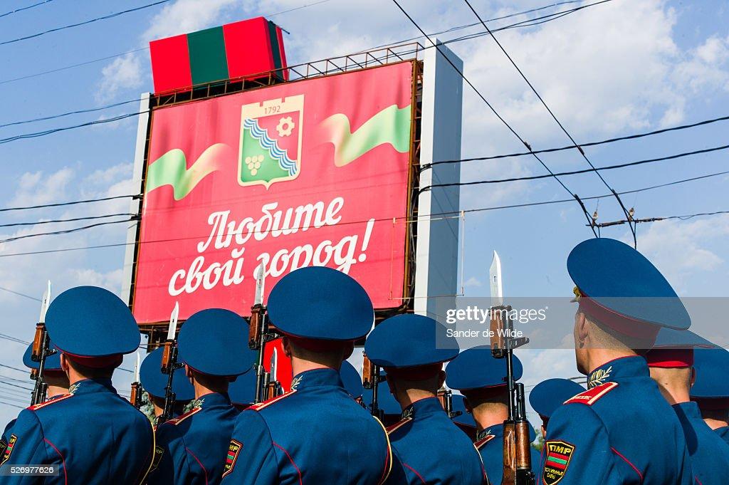 Transnistria independence day : Fotografía de noticias
