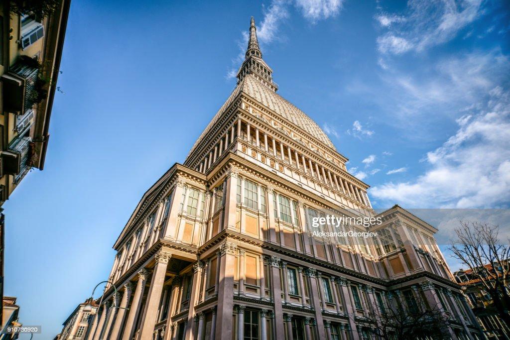 Mole Antonelliana Gebäude in Turin, Italien : Stock-Foto