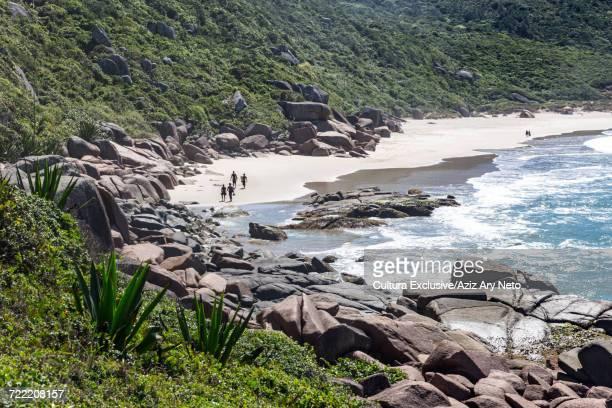 Mole beach, Praia da Galheta, Florianopolis, Santa Catarina, Brazil