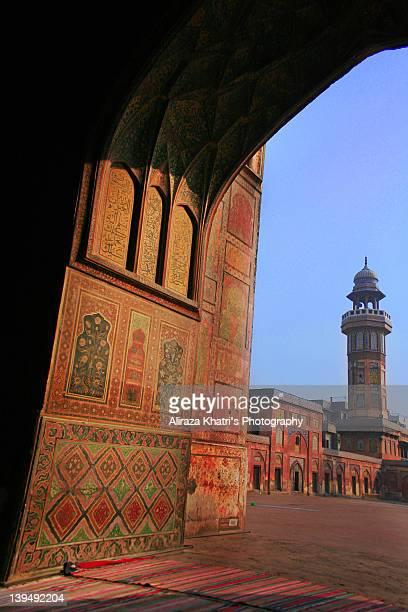 Mole on cheek of Lahore