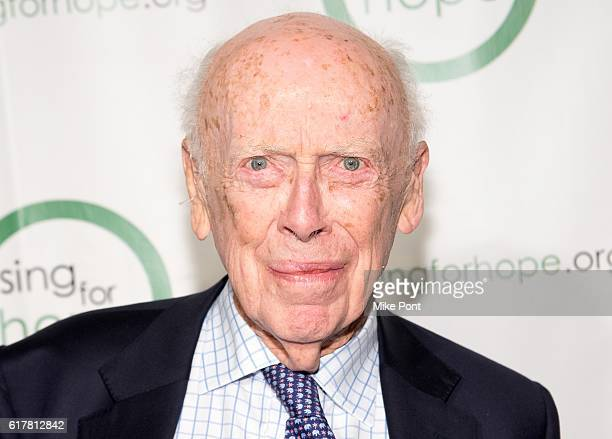 Molecular Biologist Dr James Watson attends the 10th Anniversary Sing For Hope Gala at Tribeca Rooftop on October 24 2016 in New York City
