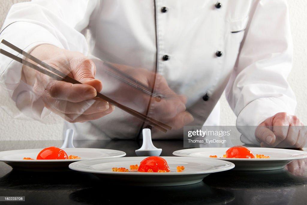 Molecular Chef : Stock Photo