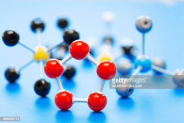 molecular model - atom stock photos and pictures