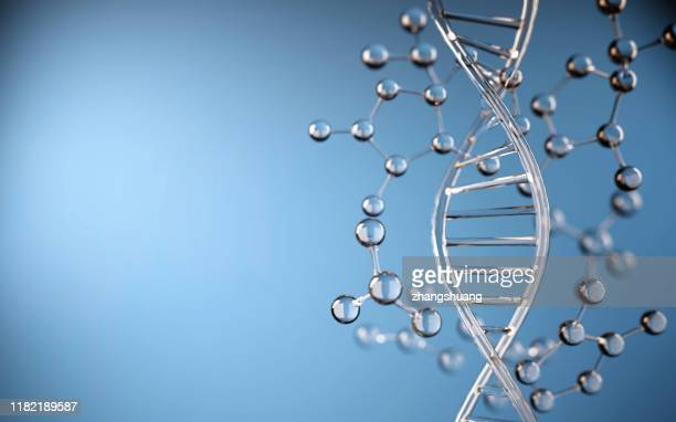 dna molecule, illustration - microbiology stock pictures, royalty-free photos & images