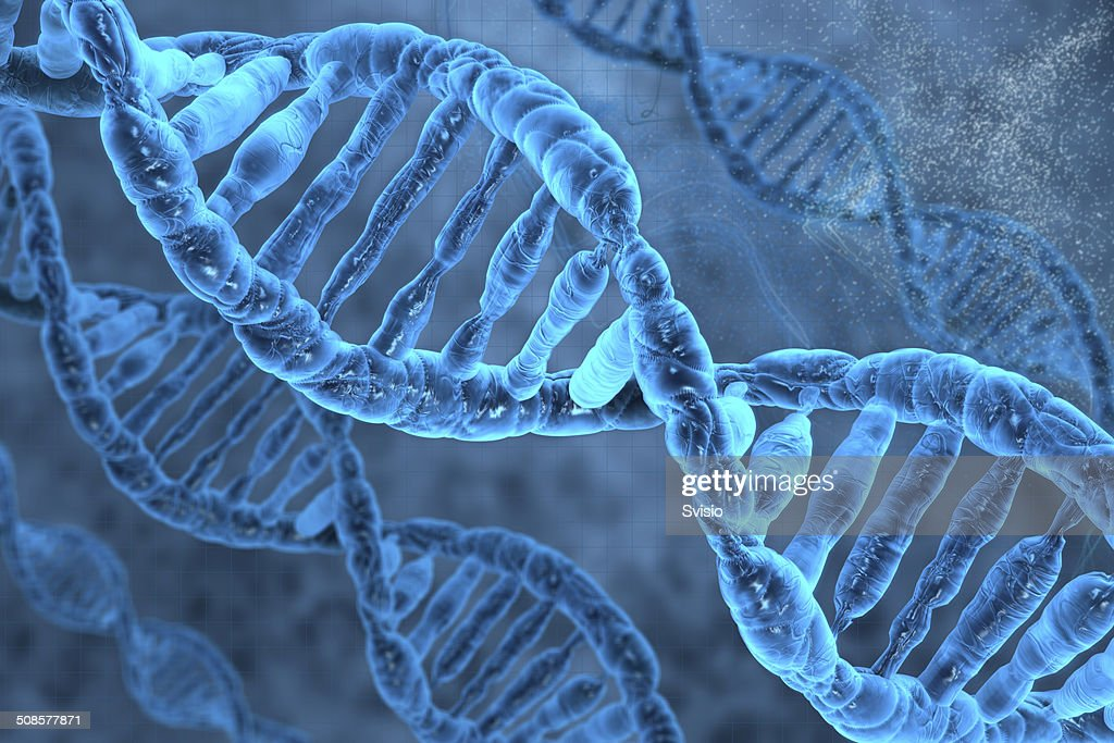 DNA molecules : Stockfoto