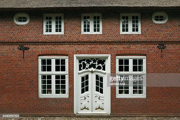 MolfseeRammsee SchleswigHolstein openair museum farmhouse Schmielau from Lehe Dithmarschen brick building