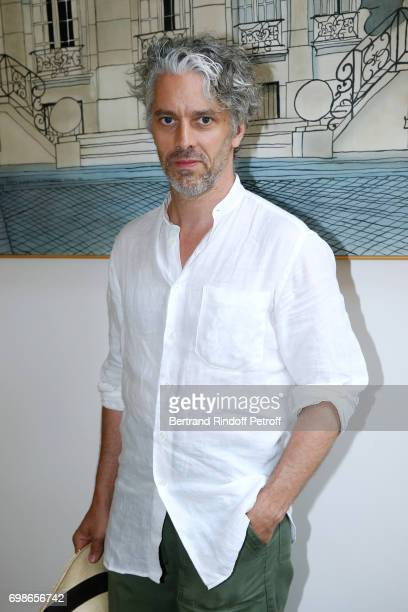 Moliere awarded actor and director James Thierree attends the Caisse d'Epargne IleDeFrance supports the Ceremony of the Molieres 2017 Party on June...
