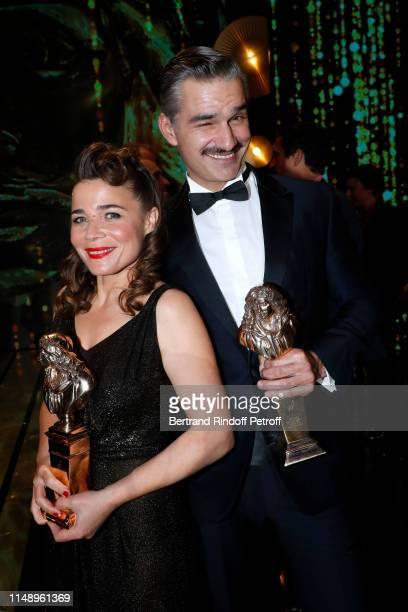 Moliere for Meilleur Spectacle d'Humour for Bonne nuit Blanche Blanche Cardin and Moliere for Meilleur Comedien dans un second role for Le Canard a...
