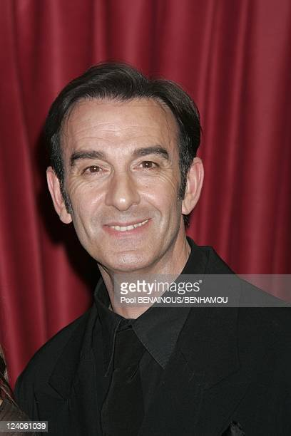 Molieres 2005 ceremony at the Theatre Mogador In Paris France On May 09 2005 Robin Renucci