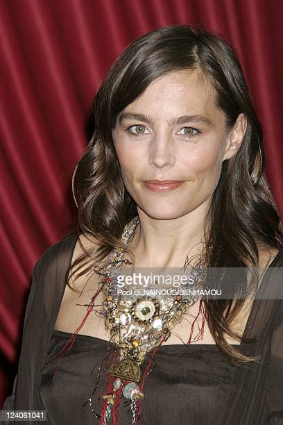Molieres 2005 ceremony at the Theatre Mogador In Paris France On May 09 2005 Sophie Duez