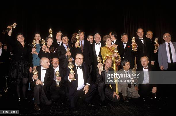 'Molieres' stage Awards Ceremony in Paris France in May 1989