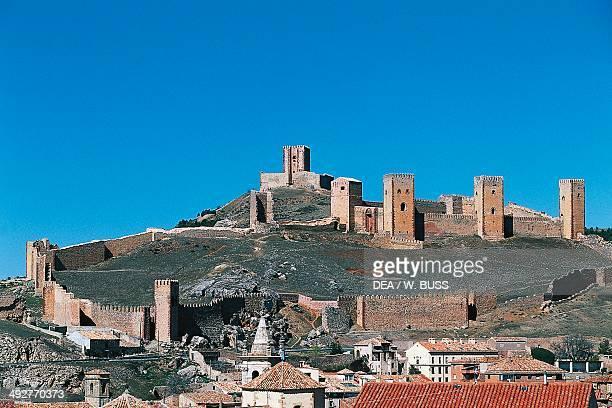 Molina de Aragon castle 12th13th century CastillaLa Mancha Spain