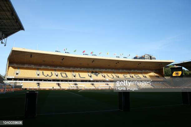 Eldin Jakupovic of Leicester City warms up ahead of the Carabao Cup Third Round match between Wolverhampton Wanderers and Leicester City at Molineux...