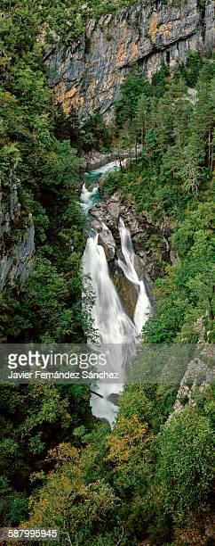 Molinieto waterfall. Ordesa National Park. Spain