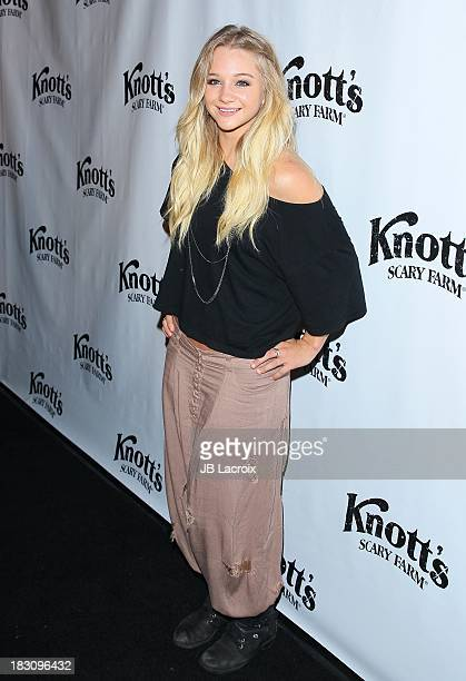 Mollee Gray attends the Knott's Scary Farm 'Haunt' VIP Opening Night Party at Knott's Berry Farm on October 3 2013 in Buena Park California