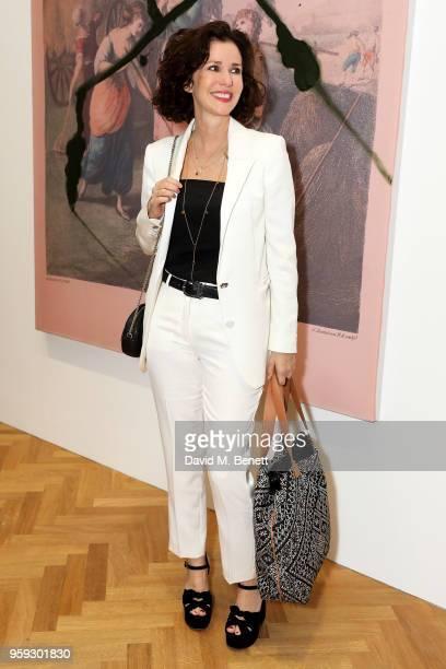 Mollie DentBrocklehurst attends Pace Gallery Celebrates Julian Schnabel at 6 Burlington Gardens on May 16 2018 in London England