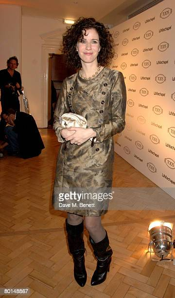 Mollie Dent-Brocklehurst attends the TOD's Art Plus Film Party, at 1 Marylebone Road on March 6, 2008 in London, England.