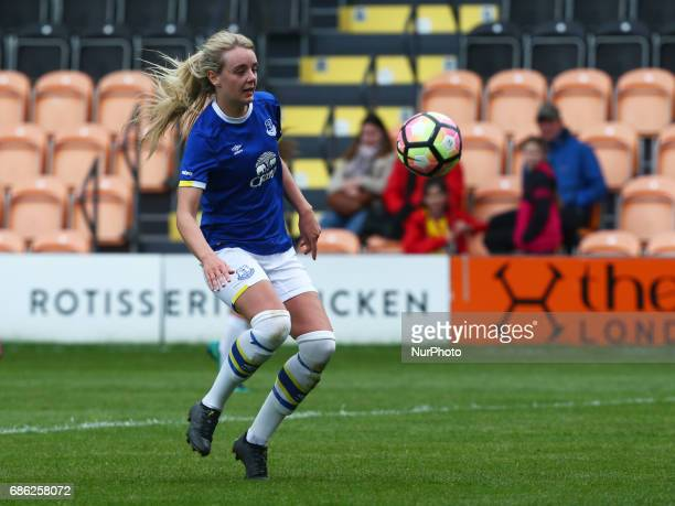 Mollie Green of Everton Ladies during Women's Super League 2 Spring Series match between London Bees against Everton Ladies at The Hive Barnet FC on...