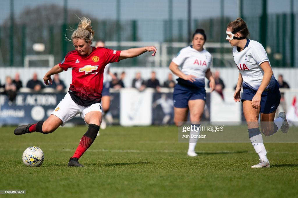 Tottenham Hotspur Women v Manchester United Women: WSL 2 : News Photo