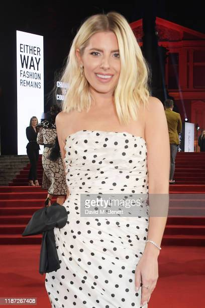 Mollie King arrives at The Fashion Awards 2019 held at Royal Albert Hall on December 2 2019 in London England