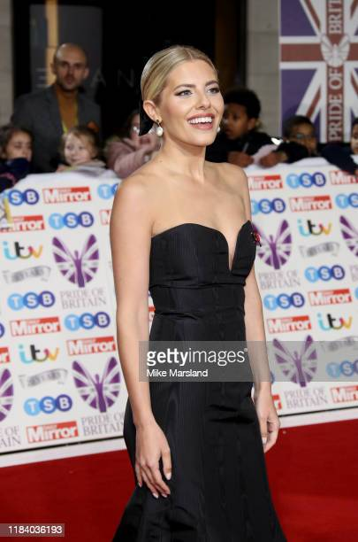 Mollie King attends Pride Of Britain Awards 2019 at The Grosvenor House Hotel on October 28 2019 in London England