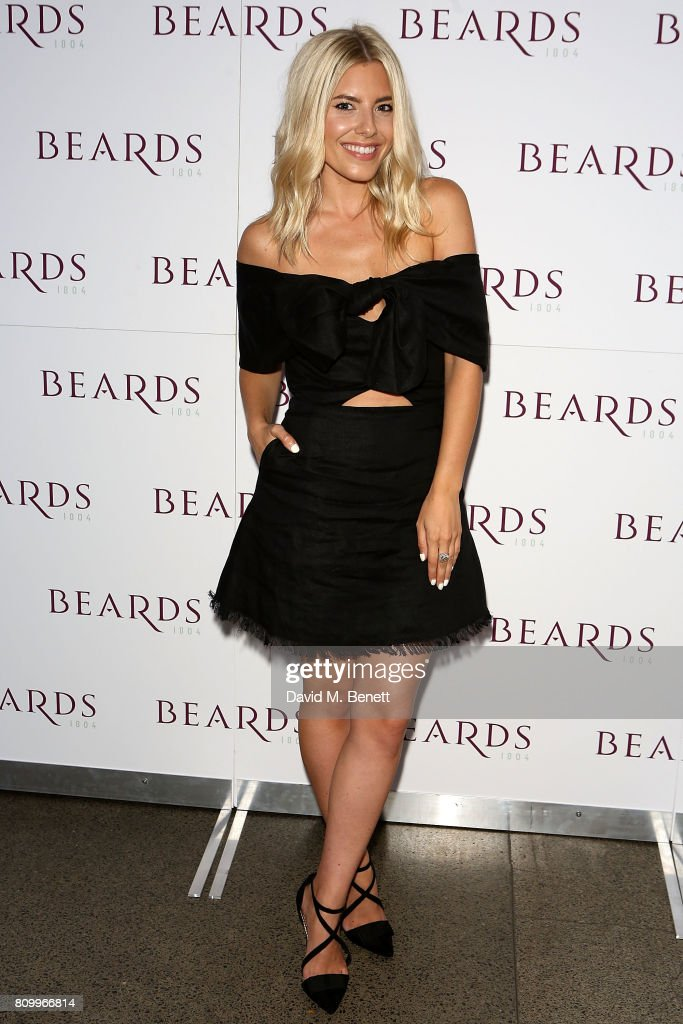 Mollie King attends the Beards Jewellery London showroom launch party in the Royal Arcade, Old Bond Street, on July 6, 2017 in London, England.